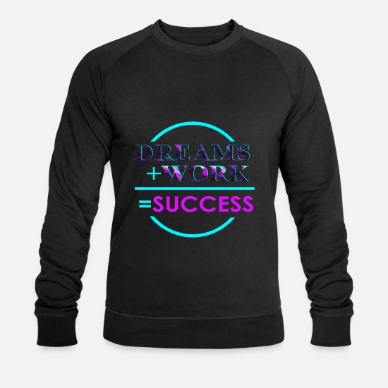 Gift Idea Hoodies & Sweatshirts - success - Men's Organic Sweatshirt black