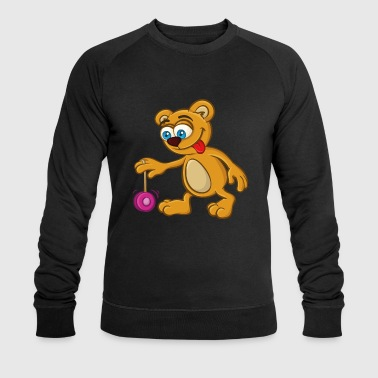 Teddy-bear Teddy bears Jo-Jo | Yo-Yo Teddy Bear Bear - Men's Organic Sweatshirt by Stanley & Stella