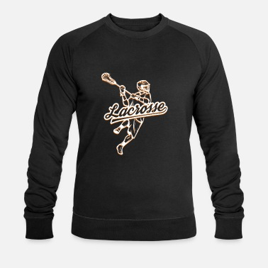Lacrosse Lacrosse player - Men's Organic Sweatshirt by Stanley & Stella