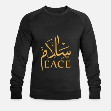 Arabic Peace - Men's Organic Sweatshirt