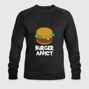 Affection Burger affection - Men's Organic Sweatshirt by Stanley & Stella