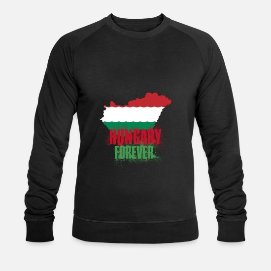 Birthday Hoodies & Sweatshirts - Hungary - Men's Organic Sweatshirt black