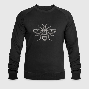 Manchester Bee Industrial Riveted - Men's Organic Sweatshirt by Stanley & Stella