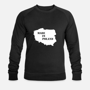 Poland Made in Poland - Men's Organic Sweatshirt by Stanley & Stella