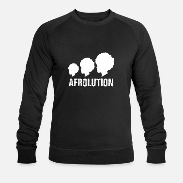 Afro Afrolution African Pride T-shirt - Sweat-shirt bio Stanley & Stella Homme