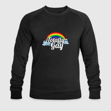 Totally Gay Gift - Shirt - be Pride - Men's Organic Sweatshirt by Stanley & Stella