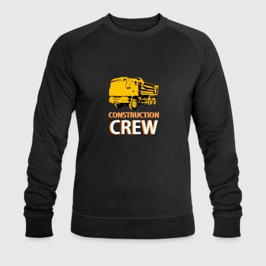 construction worker - Men's Organic Sweatshirt by Stanley & Stella