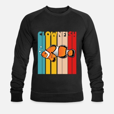 Poisson Poisson-poisson-poisson-clown - Sweat-shirt bio Homme