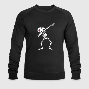 Dab skeleton kamikaze Japan Judo Karate Samurai - Men's Organic Sweatshirt by Stanley & Stella