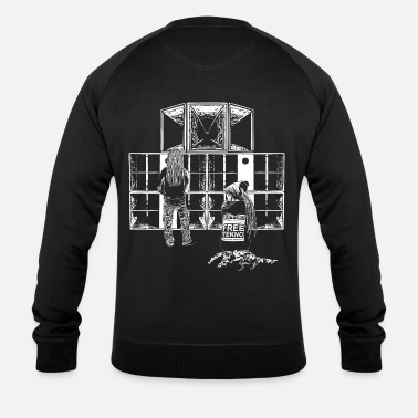 Sound System Support Free Tekno sound system - Men's Organic Sweatshirt by Stanley & Stella