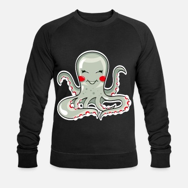 Squid Squid tentacle - Men's Organic Sweatshirt