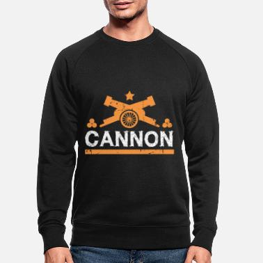 Cannonball Cannon gift cannonball fortress - Men's Organic Sweatshirt