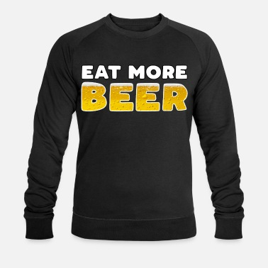 Thirst Quencher Hops smoothie eat more beer beer gift - Men's Organic Sweatshirt