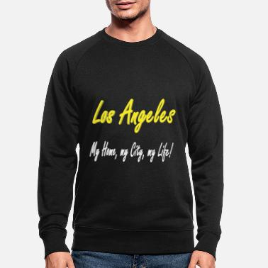 Strip Los Angeles Design - Männer Bio Pullover