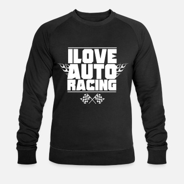 Course Automobile Course automobile course automobile - Sweat-shirt bio Homme