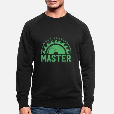 Turn Turning wood turning wood turning wood turning - Men's Organic Sweatshirt