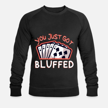 Bluff bluff - Men's Organic Sweatshirt