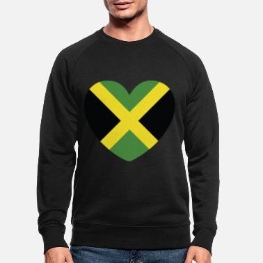 Jamaican Creole COOL JAMAICA FLAG DESIGN - Men's Organic Sweatshirt