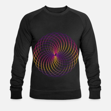 Goa Flower of Life Sacred Geometry Yoga Goa Dmt - Männer Bio Pullover