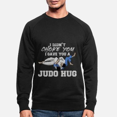 Judo Judo Arts martiaux Arts martiaux Judoka - Sweat-shirt bio Homme