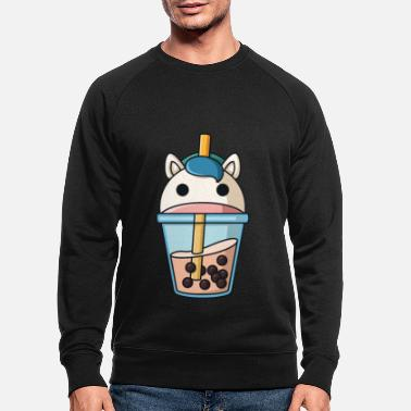 Tea Bubble Tea Kawaii K-Pop Taiwanese Passion Fruit - Men's Organic Sweatshirt