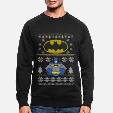 Ugly Christmas DC Comics Batman Weihnachten Ugly Sweater - Männer Bio Pullover