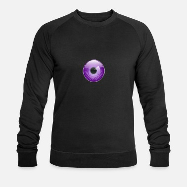 Pupille Pupil violet - Sweat-shirt bio Homme