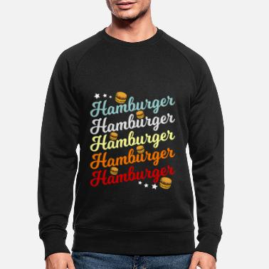 Casse Hamburger Burger - Sweat-shirt bio Homme