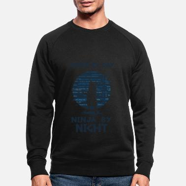 Coder by Day Software Architect Consultant Coding - Men's Organic Sweatshirt