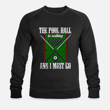 Pool Billiards Pool Billiards Pool Billiards - Men's Organic Sweatshirt