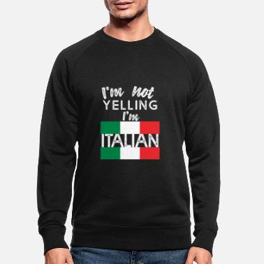 Italien Italien italien italien - Sweat-shirt bio Homme