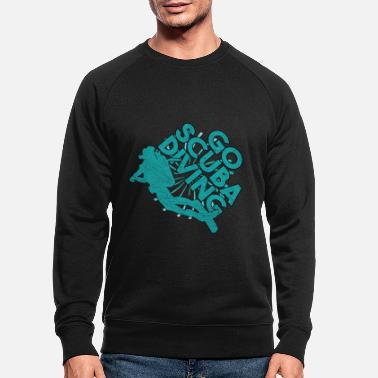 Divers Diver Gift Diver Diver Sports nautiques - Sweat-shirt bio Homme