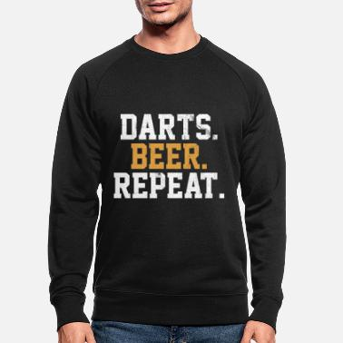 Bar Dart Beer Bar Pub Vintage Arrow - Men's Organic Sweatshirt