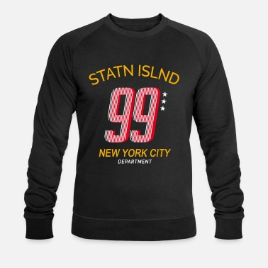Nyc Staten Island | NYC Collegestyle - Sweat-shirt bio Homme