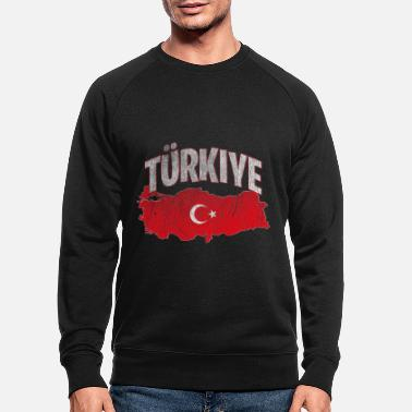 Turquie Turquie Turquie Turquie - Sweat-shirt bio Homme