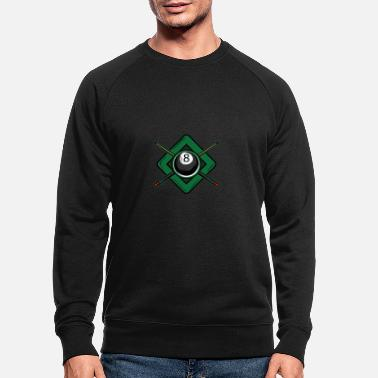 Cue Billiard cue - Men's Organic Sweatshirt