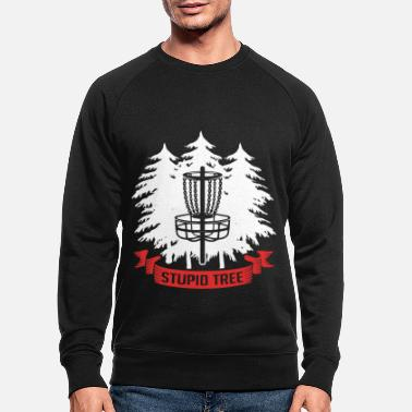 Stoom Frisbee Golf Disc golf werpschijf Ultimate Frolf - Mannen bio sweater