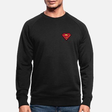 Superman S-Shield logo small - Miesten luomu pusero