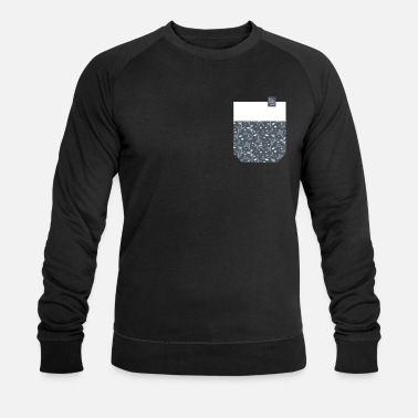 Breast Pocket breast pocket - Männer Bio Pullover