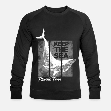 Save Environmental Protection Shirt Activist Plastic Free Recycling - Men's Organic Sweatshirt
