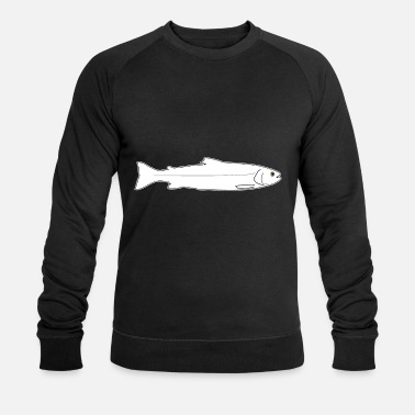 Trout Trout rainbow trout brown trout fish fishing - Men's Organic Sweatshirt