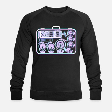 Suitcase full of fireworks - Men's Organic Sweatshirt