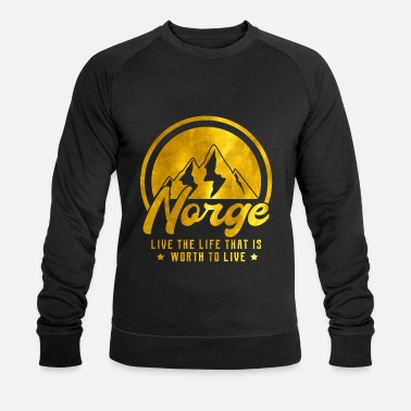 Scandinavie Norvège - Sweat-shirt bio Homme