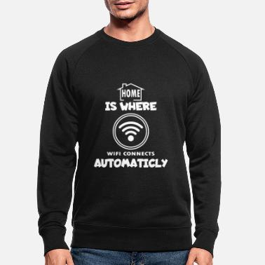 Wifi WiFi - Men's Organic Sweatshirt
