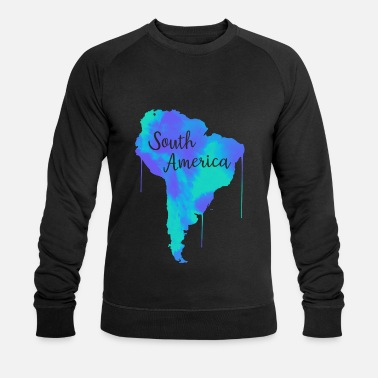 South America South America - Men's Organic Sweatshirt