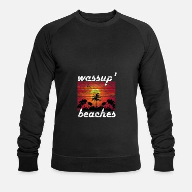 Summer sun beach vacation - Men's Organic Sweatshirt