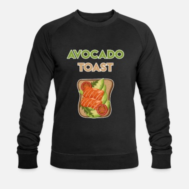 Funny Avocado Sayings Avocado Toast Avocado Bread Funny avocado sayings - Men's Organic Sweatshirt