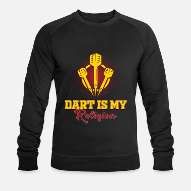 Darts religion - Men's Organic Sweatshirt