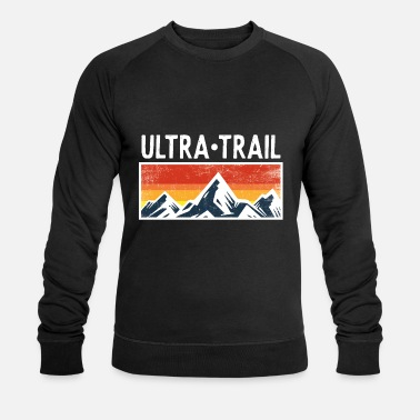 Ultramarathon Ultra Trail Runner Mountains bergen cadeau lopers - Mannen bio sweater