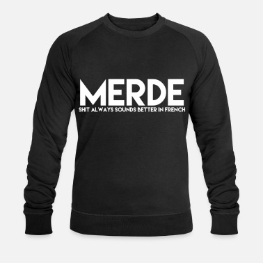 French. French - Men's Organic Sweatshirt